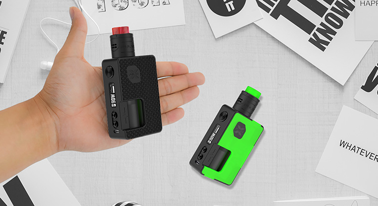 Vandy Vape Pulse X Squonk Box Mod Vape Kit Preview