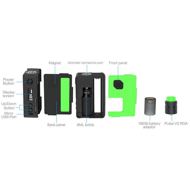 Vandy Vape Pulse X Squonk Kits With Pulse V2 RDA