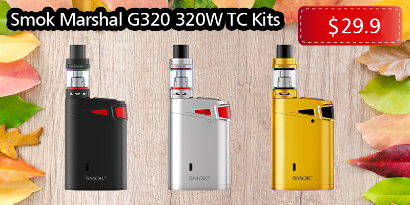 Special Price For Smok Marshal G320 320W TC Kits