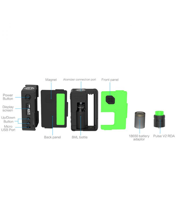Vandy Vape Pulse X Squonk Kit Special Edition With Pulse