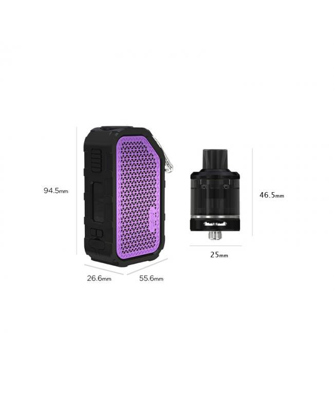 Wismec Active 80W Music Waterproof Vape Kit With Amor NSE Tank