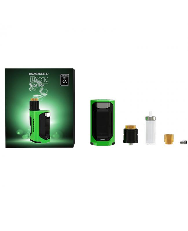Wismec Luxotic DF Box 200W Kit With Guillotine V2 RDA