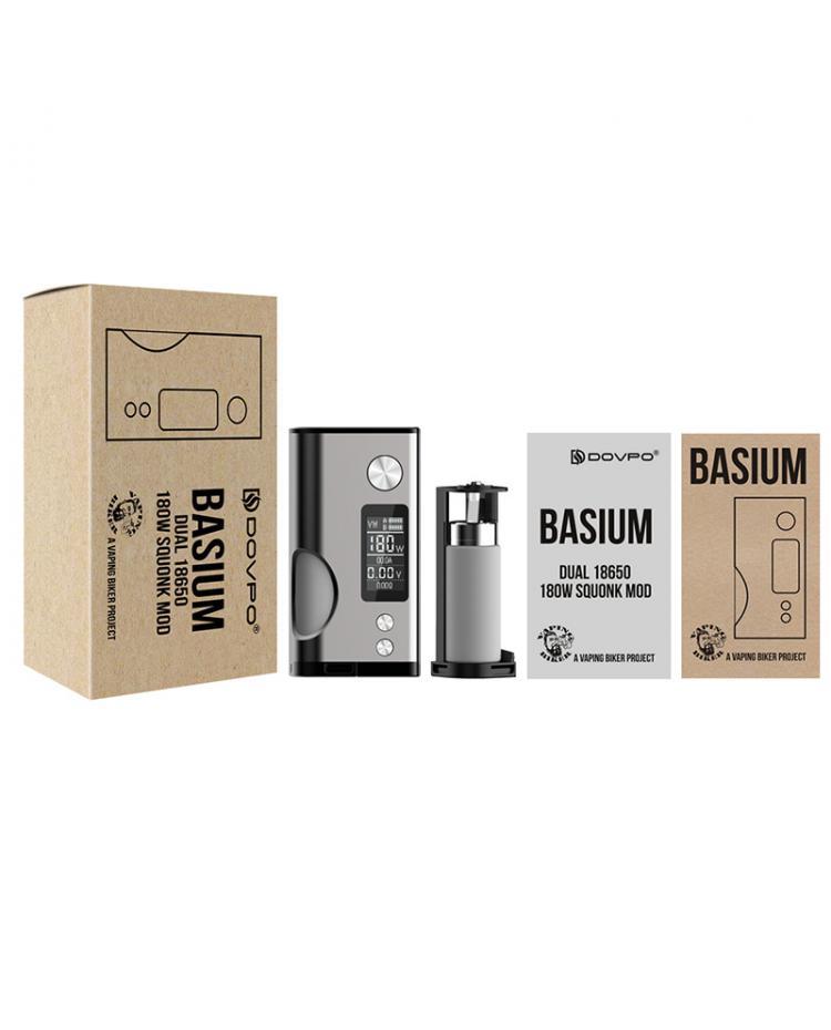 Dovpo Basium 180W Squonk Box Mod
