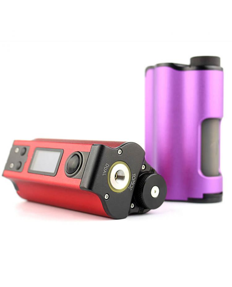 Dovpo Topside Dual 18650 200W Top Refill Squonk Mod