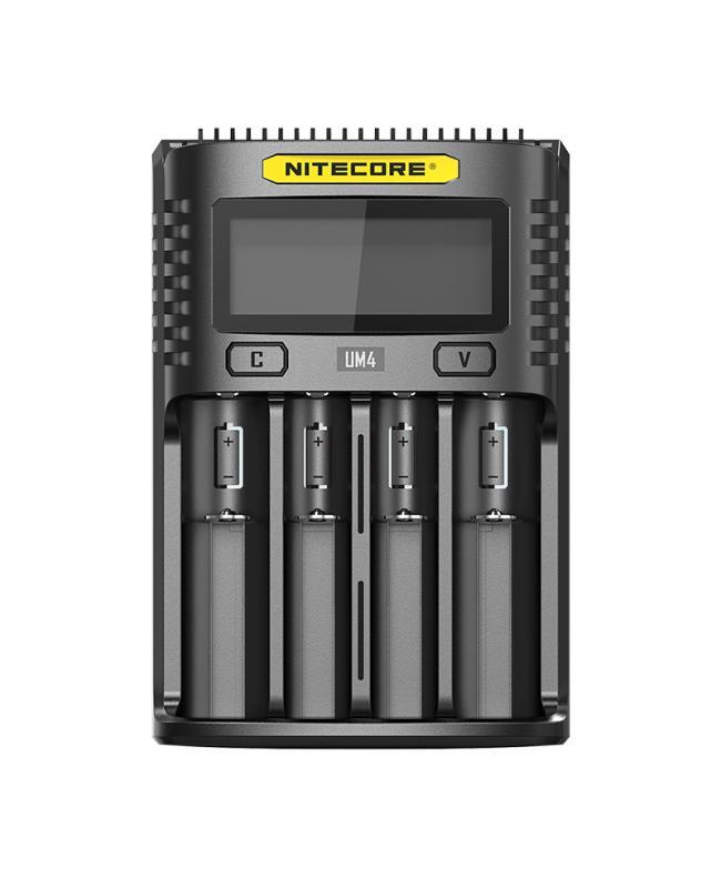 Nitecore UM4 Four Slot Intelligent USB Battery Charger