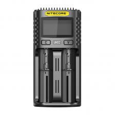 Nitecore UMS2 Dual Slots Superb Battery Charger
