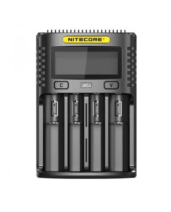 Nitecore UMS4 4-Slots Intelligent USB Superb Battery Charger