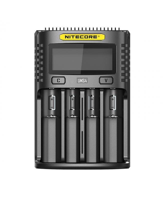 Nitecore UMS4 4-Slots Intelligent USB Superb Battery Charger