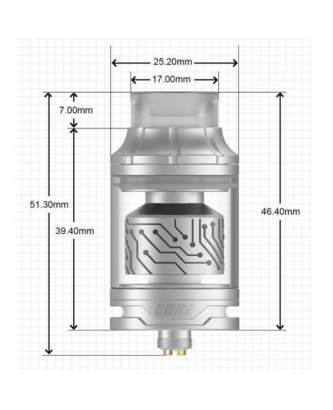 Vapefly Core RTA Tank 4ML 25.2MM