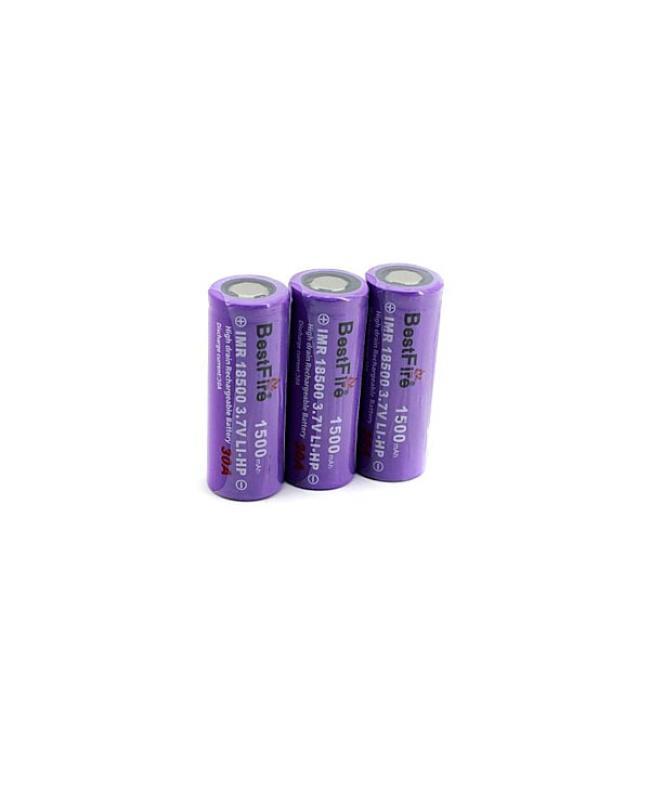 1500mAh IMR 18500 Bestfire Battery