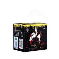 Demon Killer Wick Flame SS316L Pre Built Coils For Sale