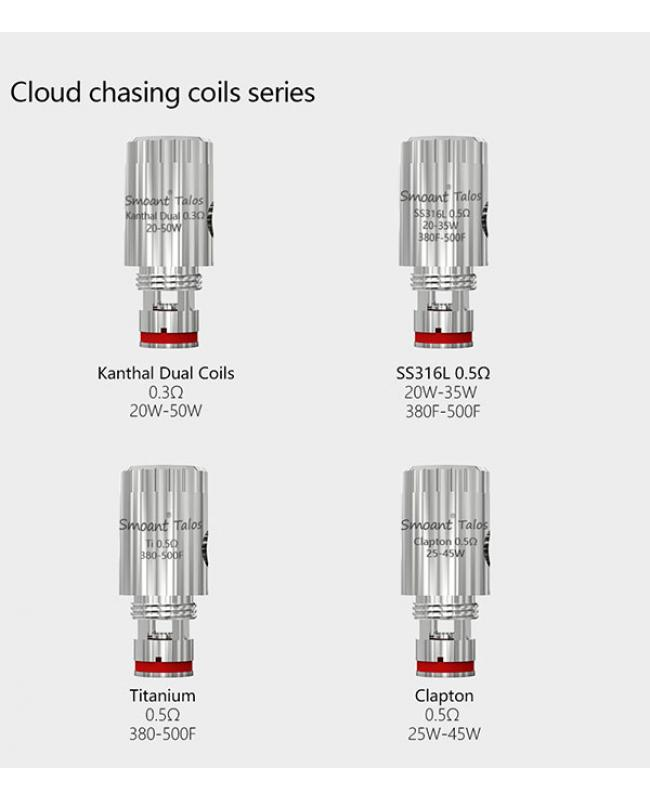 Smoant Talos V1 Replaement Coil Heads