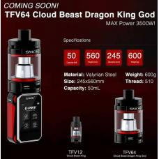 Smok TFV64 Cloud Beast Dragon King God Tank