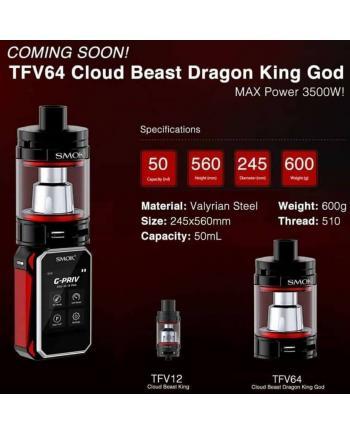 Smok TFV64 Cloud Beast Dragon King God Tank