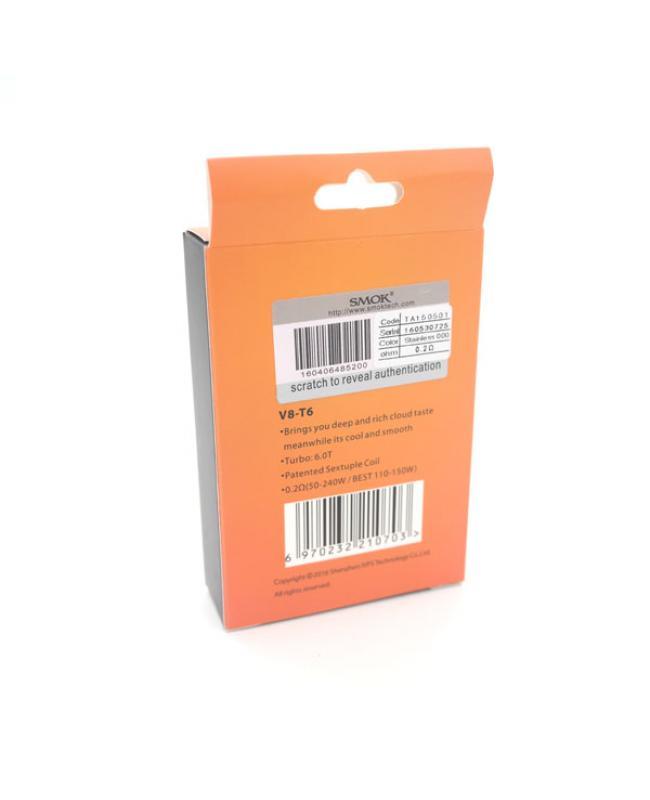 Smok V8-T6 Sextuple Coil