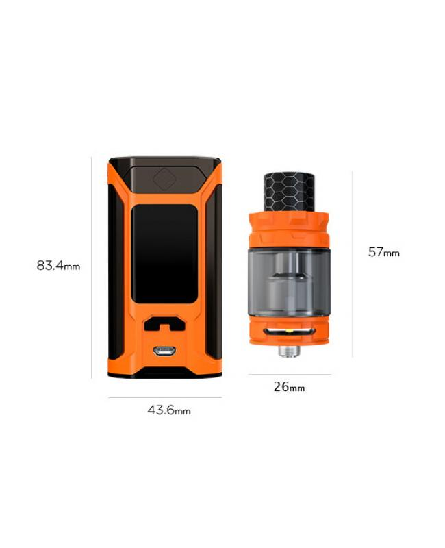 Wismec Sinuous Ravage230 With Gnome King Tank