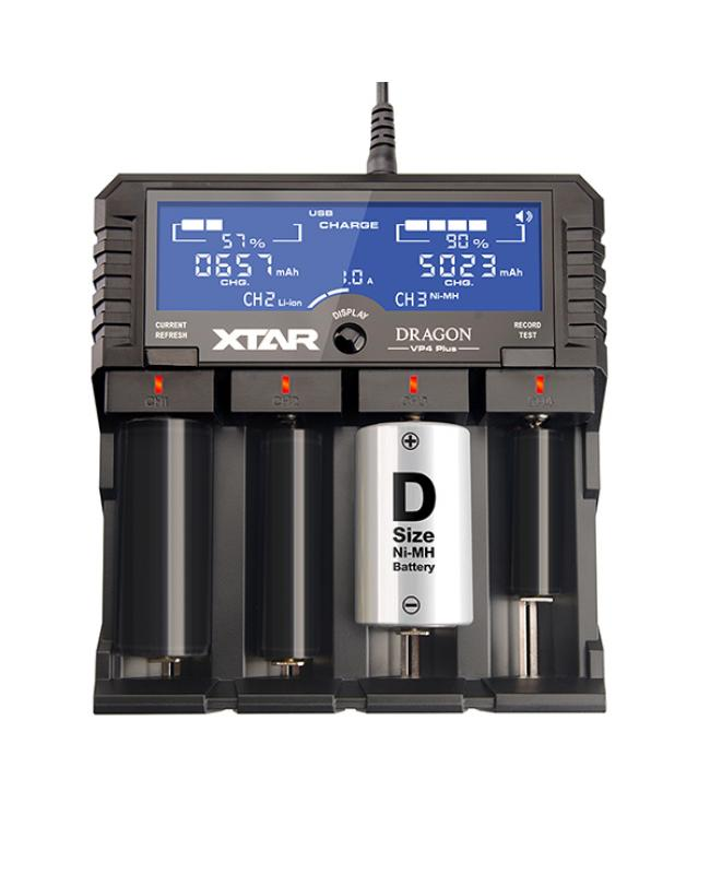 Xtar DRAGON VP4 Plus Battery Charger