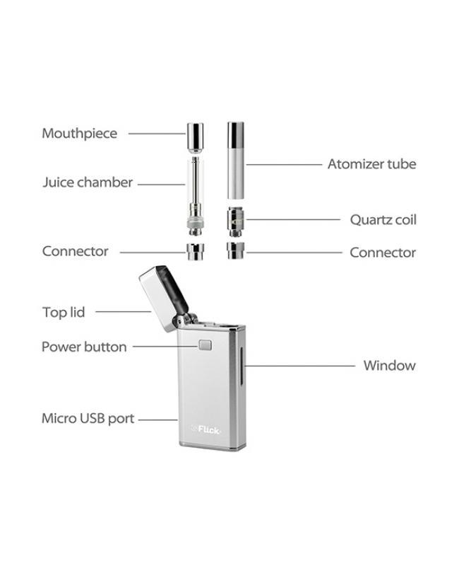 Yocan Flick Wax Juice 2IN1 Kit