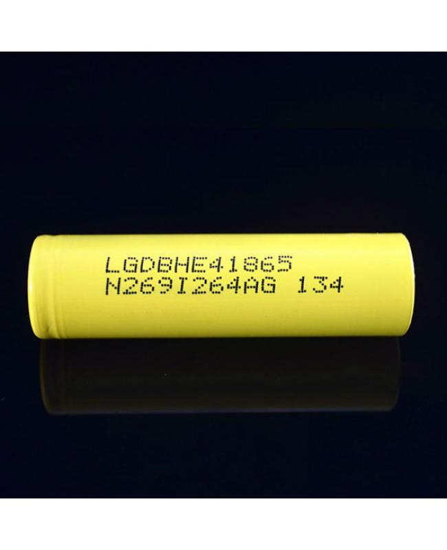 LG HE4 2500mAh 20A Battery
