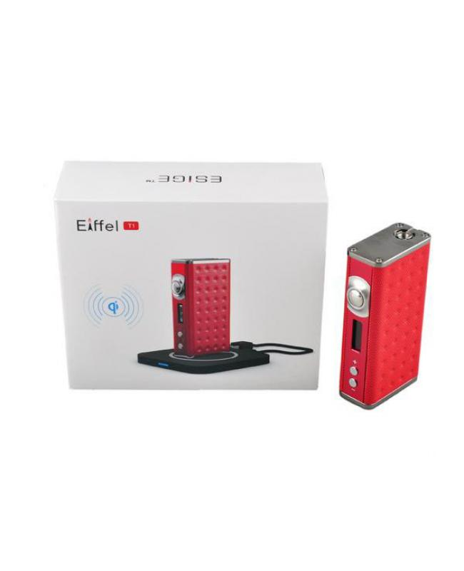 Eiffel T1 165W Temp Control Box Mod With Wireless Charger