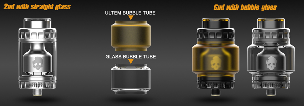 Dovpo Blotto RTA Glass Tube