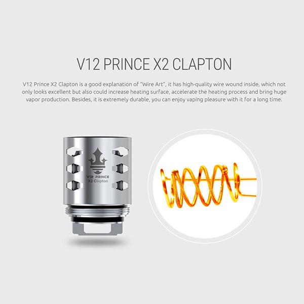 Cabeças de bobina SMOK V12 Prince X2 Clapton