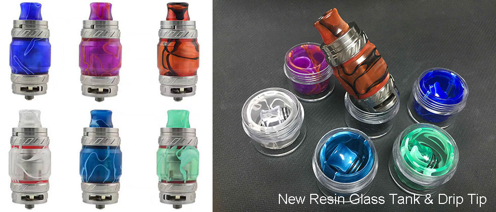Resin Glass Tank And Drip Tips