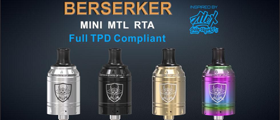 vandyvape berserker mini MTL RTA